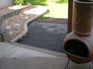 bottom tier / walkway