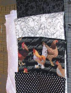 some b&w fabric