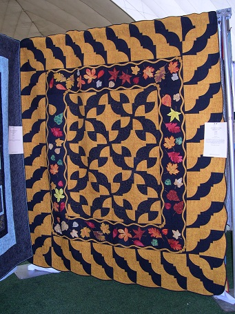 Baubles Baubles: drunkards path free quilt pattern