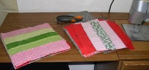 pinned & sewn