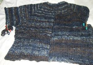 varigated sweater