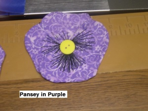 Pansey n purple